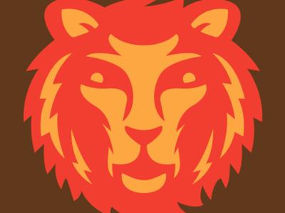 Zombie lion logo illustration in progress freelance logo designer face logo lightining face lion head brand design firms designer logo lion