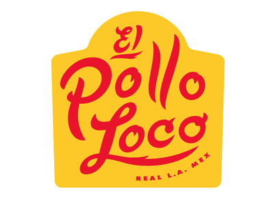 El Pollo Loco Logo Early Concepts logodesign logo branding chicken fire typography hand lettering hand drawn retro caligraphy