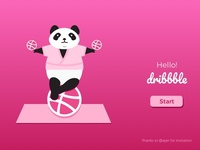 Hello Dribbble, here I am.