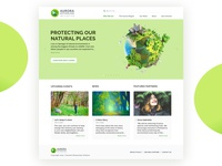 Aurora website to protect natural land