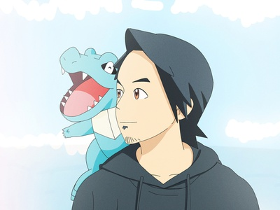 Pokemon Art Style graphic design vector design character illustration