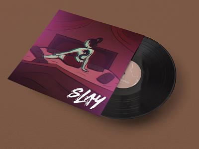 Slay Series - Music Album Artwork album cover album art music design character illustration