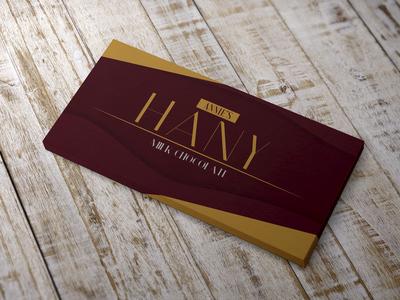 Hany Milk Chocolate Repackaging Concept Design