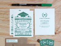 Graduation Invitation Set