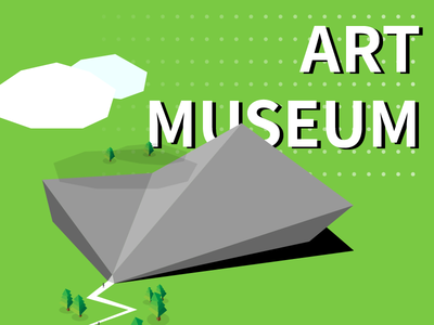 ART MUSEUM ILLUSTRATION