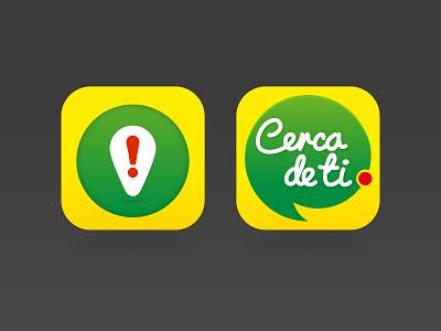 Icon exploration app ui ios vector flat icon
