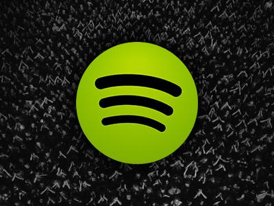 Spotify dribbble 1