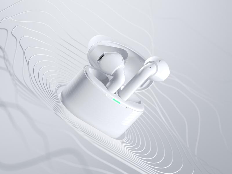 iFLYBUDS  kv headset 3d c4d