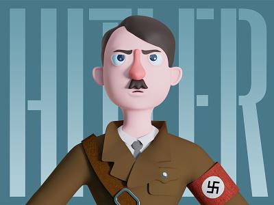 Hitler c4d character