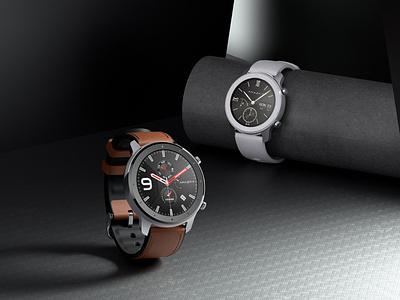 Smartwatch rendering 手表 智能手表 3d c4d