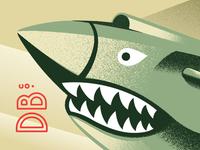 Art Deco Shark