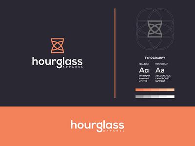 Hourglass  Logo letter h logo letter h time logo time hourglass logo hourglass design icon colorful brand typography color branding logo
