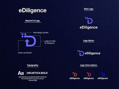 Lettermark D Logo prio hans visual identity logo process brandguidelines brand identity color logo designer technology logo letter d logo letter d ux ui brand design typography branding logo