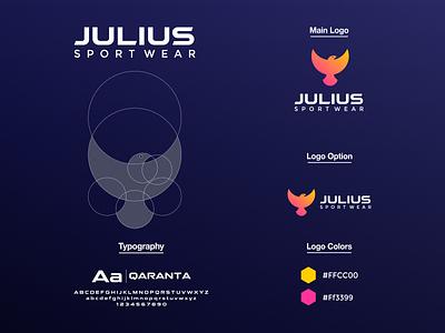 Eagle Logo vector spor twear logo sport wear golden ratio circle eagle logo eagle brand app ux ui typography branding logo