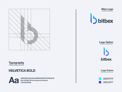 Letter B Logo prio hans logo designer icon logo process logo grid modern logo b logo letter b logo guidelines letter mark logo typography vector brand branding logo