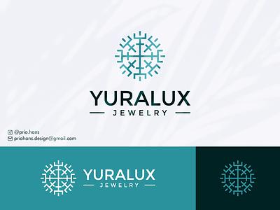 Yuralux Jewelry Logo exclusive logo logo designer letter y luxury logo minimalist logo brand icon prio hans typography color vector branding logo