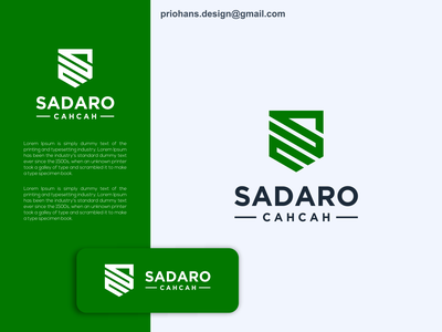 Letter SC Logo illustration green sc logo letter sc design prio hans color typography vector brand branding logo