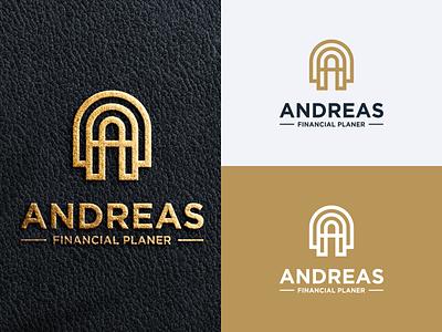 Letter A Logo exclusive logo financial logo letter a logo letter a prio hans typography color brand vector branding logo