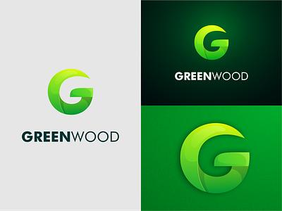 Letter G Logo gradient color green colors green letter g logo letter g prio hans typography color brand vector branding logo