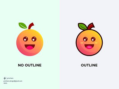 Orange Simple Mascot fun fruit mascot orange mascot mascot orange fruit prio hans color brand vector branding logo