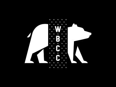 Windy Bear Coffee Co. cafe black identity logo qualtrics branding typography coffee bear illinois chicago