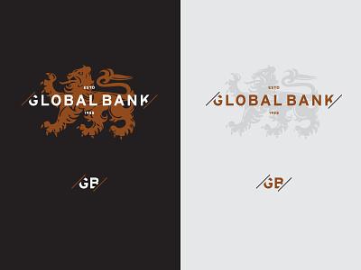 Global Bank qualtrics banking investment financial lion global money bank