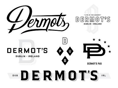 DP bar qualtrics script monogram branding identity pub ireland dublin