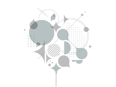 Prints & Pints shapes design week letterpress art print stars geometric pattern salt lake city utah