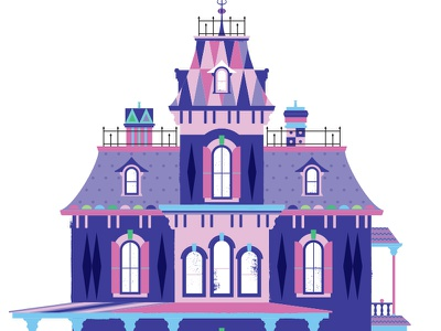 Phantom Manor its a small world small world afterlife house ghost paris france disney art d23 mary blair disneyland paris phantom manor mansion disney