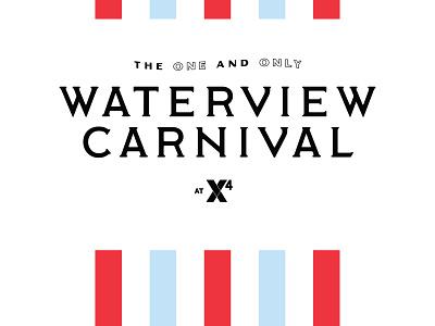 Waterview Carnival qualtrics identity badge seal tech europe logo branding england carnival london