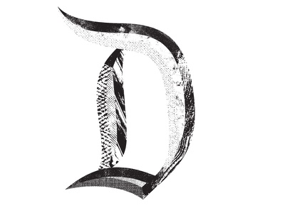 Disneyland D beveled script california anaheim distressed texture disney art type typography disneyland disney