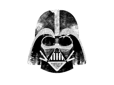 Darth Vader scifi villain mask sith typography type texture darth vader star wars