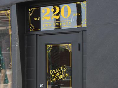 Eclecticmonkeyemporium signage