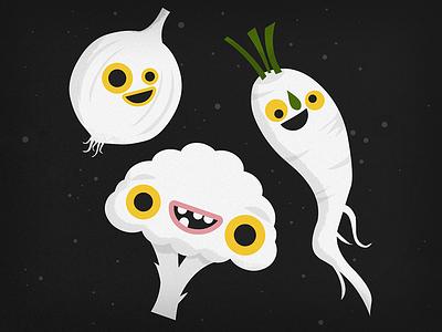 #FFFFFF Veggies daikon onion cauliflower vegetable white vegetables
