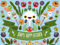 Simple Happy Kitchen book