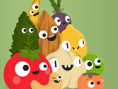 Simple Happy Kitchen - Live on Kickstarter! kickstarter book pea banana lemon beet cashew almond kale tomato food vegan