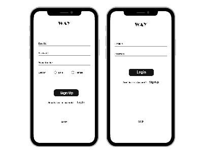 Sign Up app fashion design interaction daiyui ui