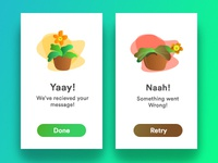 Flash Message Daily UI Day011