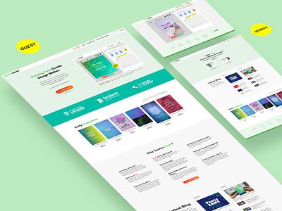 Redesign QutoesCover web app web app design webdesign