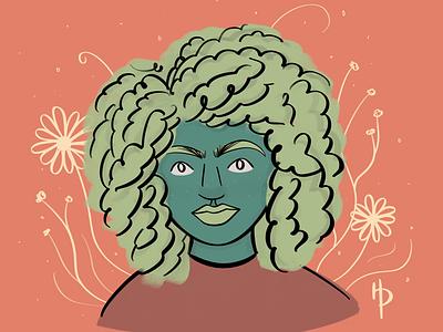 Growth illustrator digital art digital illustration illustration procreate