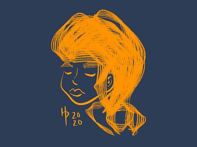 Golden navy gold digital art digital illustration illustrator illustration procreate