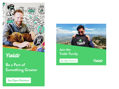 Yieldr Hiring Creatives