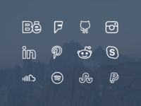 Simple Line Icons Extended [Free Icon  Font]