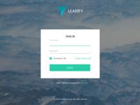 Leadify login