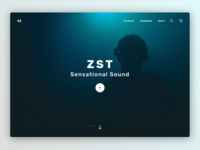 KZ website Header Exploration