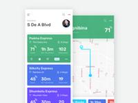 Train Tracking App