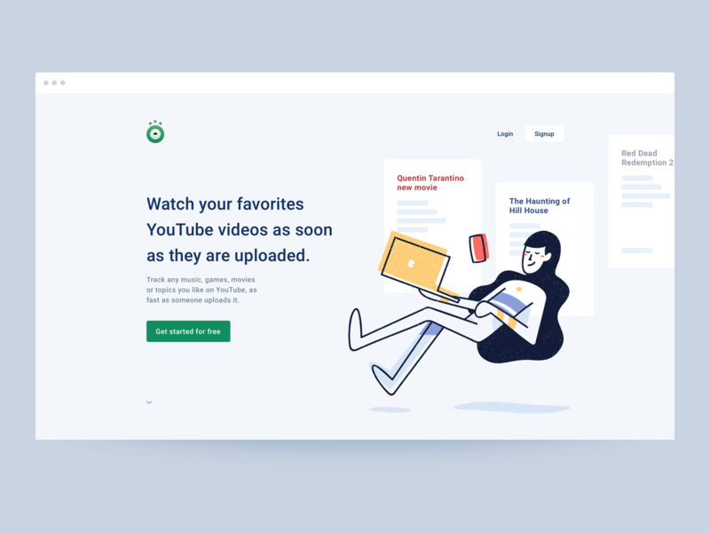 Exploration: Header for Beholddy hero homepage landing page branding interface illustration alerts ui
