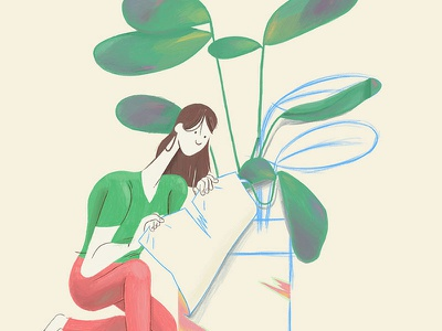 Peek behind the scenes illustration plant hellavision behind the scenes foreign fauna