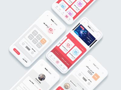 InstaCustom app UI-UX social network smm neostudio store app shop app like follower instagram app ui ux app ui uidesign social apps social media social app social app design ui design uiux minimal app minimal