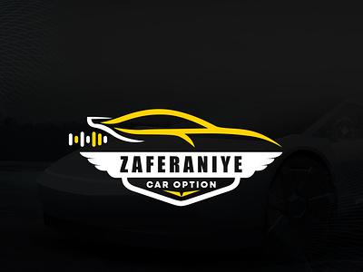 Zaferaniye car option logo sound logo audio logo audio wings logo wings wing neostudio design logos car design logodesign brand design branding brand pictogram logo design logo car logo car option car
